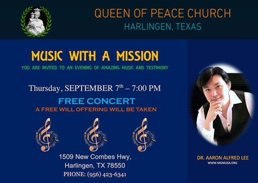 Queen of Peace, Harlingen TX